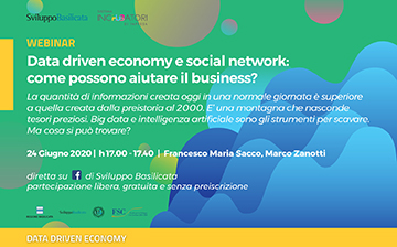 Data driven economy e social network: come possono aiutare il business?